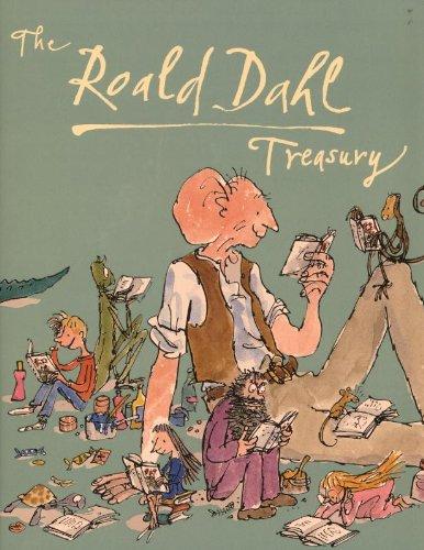 Roald Dahl Treasury,The By Roald Dahl