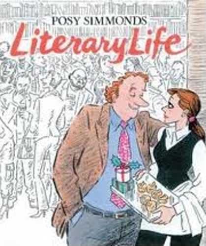 Literary Life by Simmonds, Posy Hardback Book The Cheap Fast Free Post