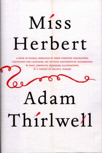 Miss Herbert par Adam Thirlwell