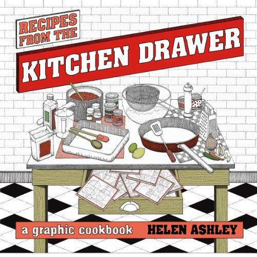 Recipes From the Kitchen Drawer: A Graphic Cookbook by Helen Ashley