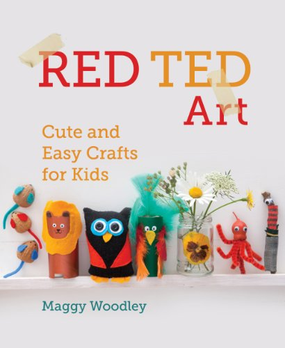 Red Ted Art By Maggy Woodley