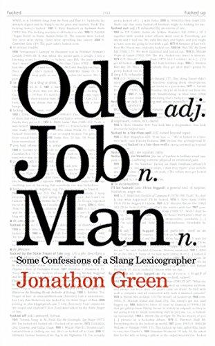 Odd Job Man By Jonathon Green
