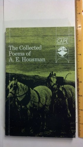 The Collected Poems By A. E. Housman