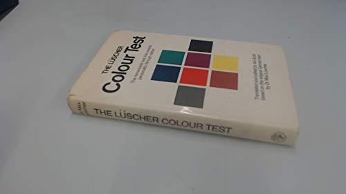 The Luscher Colour Test By Max Luscher