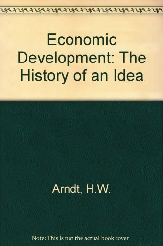 Economic Development By H. W. Arndt