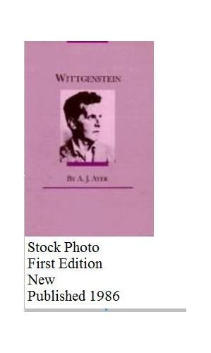 Wittgenstein By A. J. Ayer