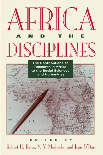 Africa and the Disciplines By Edited by Robert H. Bates