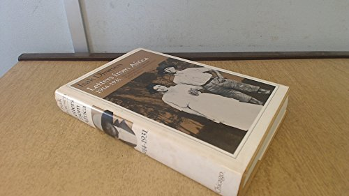 Letters from Africa, 1914-1931 By Isak Dinesen