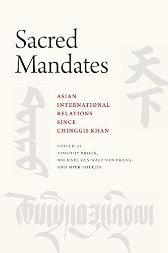 Sacred Mandates By Timothy Brook