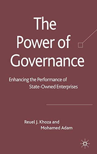 The Power of Governance By R. Khoza