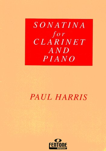 HARRIS P. - Sonatina para Clarinete y Piano By HARRIS P.