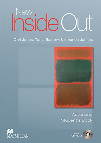 New Inside Out Advanced: Student Book with CD-ROM By Sue Kay