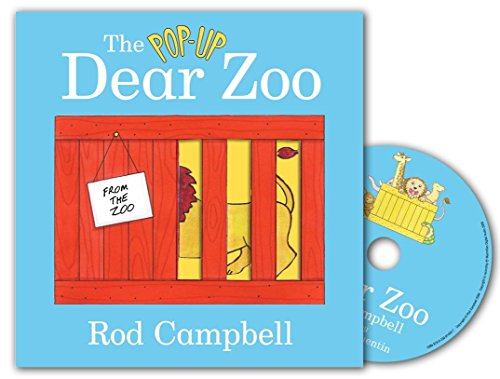 The Pop Up Dear Zoo Book and CD Pack By Rod Campbell