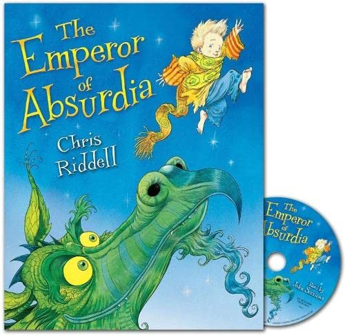 Emperor of Absurdia Book and CD Pack By Chris Riddell