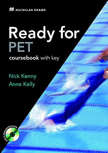 Ready for PET Intermediate Student's Book +key with CD-ROM Pack 2007 By Nick Kenny