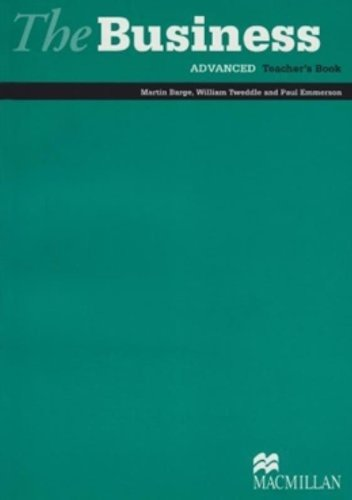 The Business - Teacher Book Advanced By John Allison