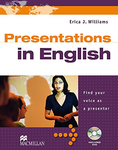 Presentations in English Student's Book & DVD Pack By Erica Williams
