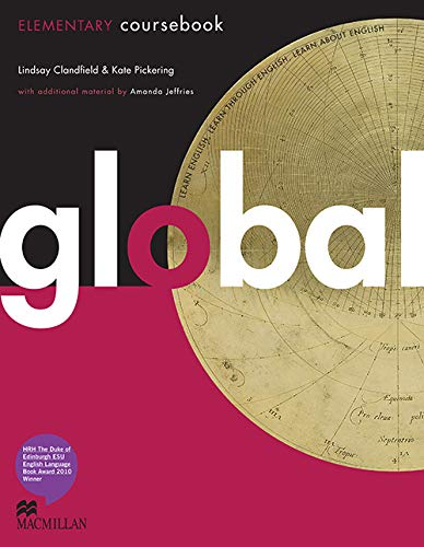 Global - Coursebook - Elementary - With eWorkbook - CEF A1 /A2 By Lindsay Clandfield
