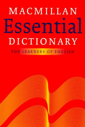 Macmillan Essential Dictionary By Edited by Michael Rundell