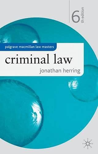Criminal Law By Jonathan Herring