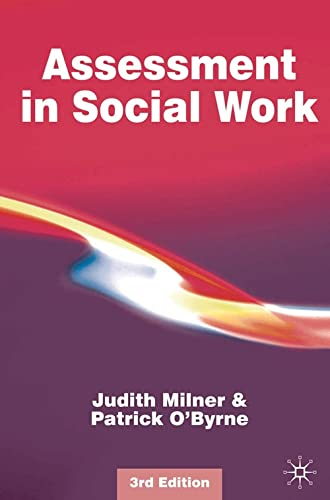 Assessment in Social Work By Judith Milner