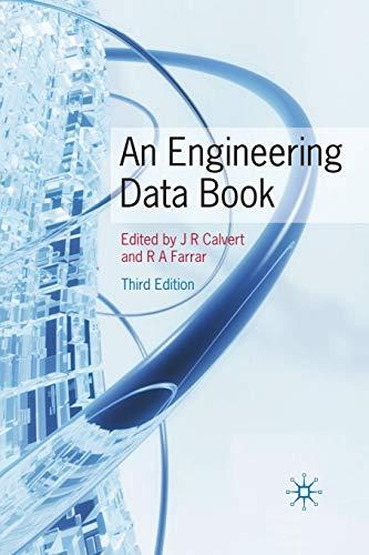 An Engineering Data Book By J. R. Calvert