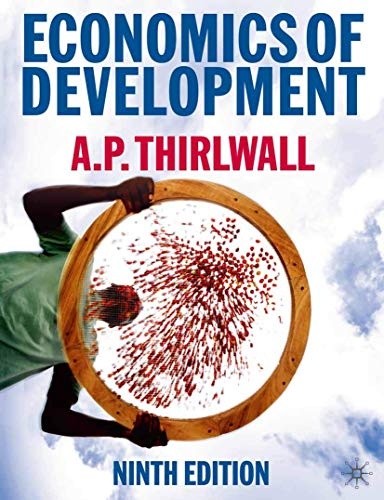 Economics of Development By A. P. Thirlwall