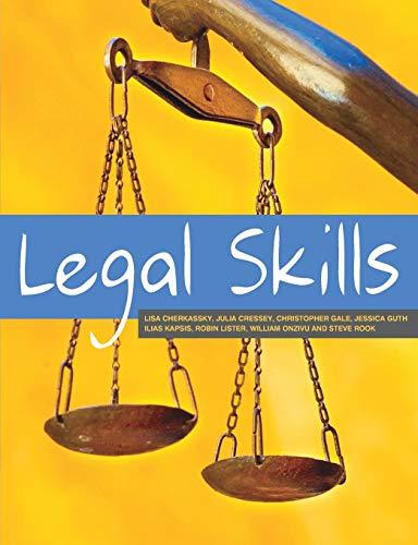 Legal Skills By Lisa Cherkassky
