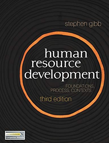 Human Resource Development By Stephen Gibb