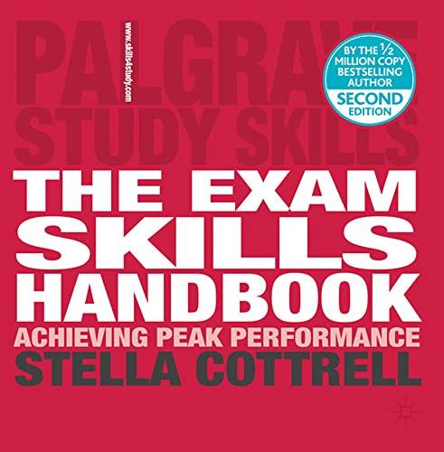 The Exam Skills Handbook By Stella Cottrell