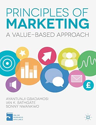 Principles of Marketing By Ayantunji Gbadamosi