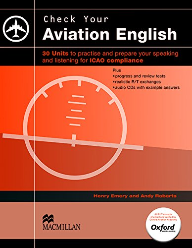 Check Your Aviation English: SB + Audio CD By Henry Emery