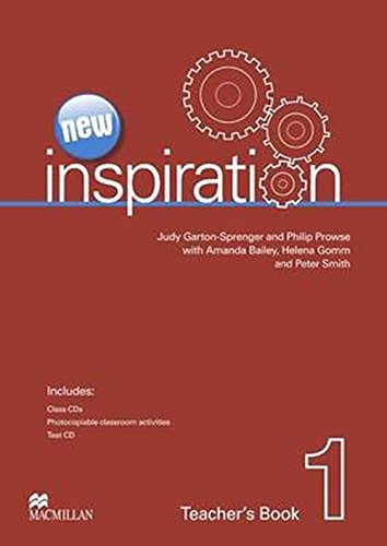 New Edition Inspiration Level 1 Teacher's Book & Test CD & Class Audio CD Pack By Helena Gomm