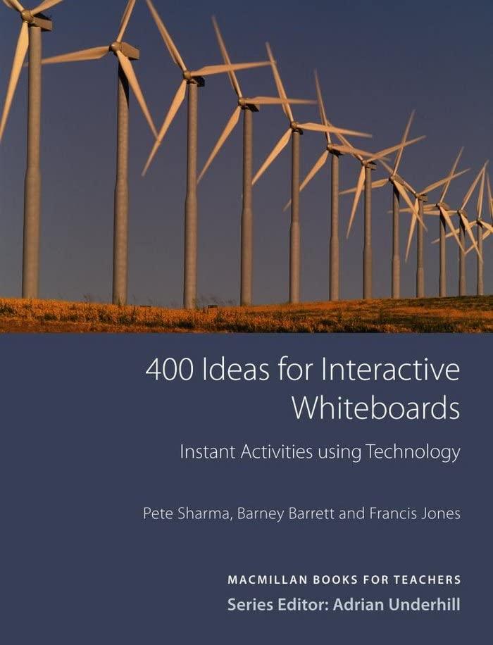400 Ideas for Interactive Whiteboards (Books for Teachers) By Barney Barrett