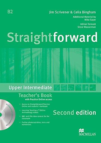 Straightforward 2nd Edition Upper Intermediate Level Teacher's Book Pack By Jim Scrivener