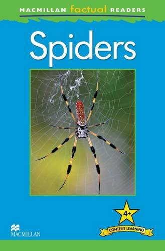 OP Macmillan Factual Readers - Spiders - Level 4 By Claire Llewellyn