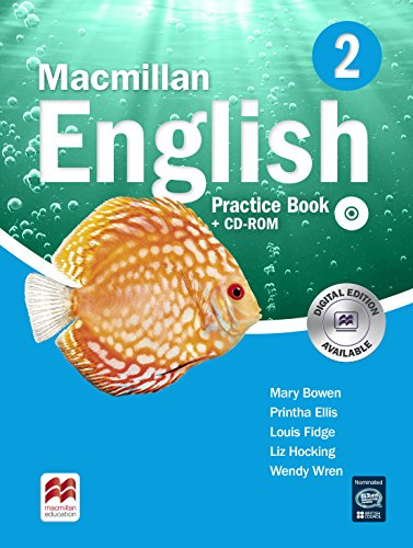 Macmillan English Practice Book & CD-ROM Pack New Edition Level 2 By Mary Bowen