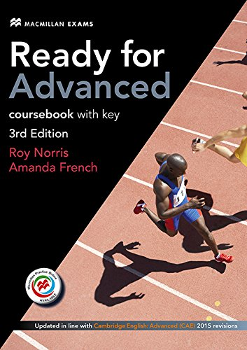 Ready for Advanced 3rd edition Student's Book with key pack (Audio +mpo) by Amanda French