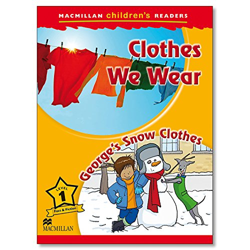 Macmillan Children's Readers Clothes We Wear Level 1 By Joanna Pascoe