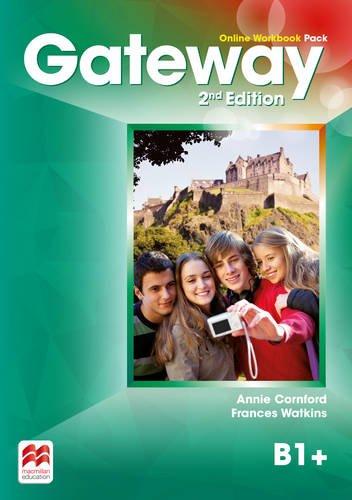 Gateway 2nd edition B1+ Online Workbook Pack By F Watkins