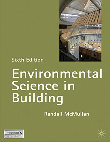 Environmental Science in Building (Building and Surveying Series) By Randall McMullan
