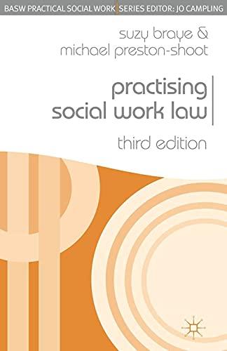 Practising Social Work Law (Practical Social Work Series) By Suzy Braye