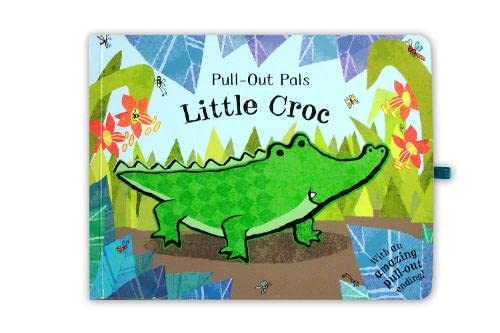 Pull-Out Pals: Little Croc Illustrated by Emma Dodd