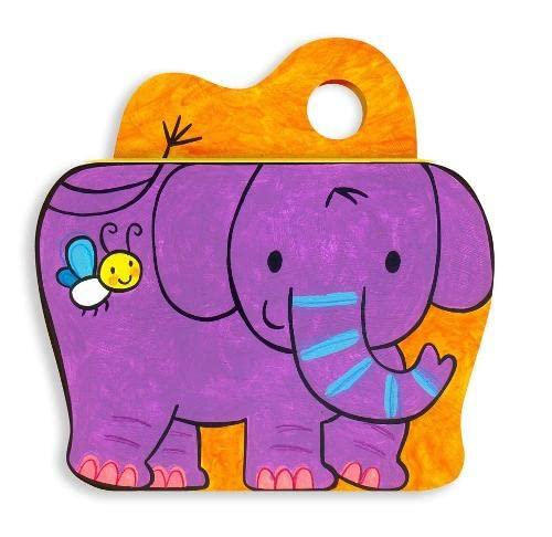 Clackety-Clacks: Elephant Illustrated by Luana Rinaldo