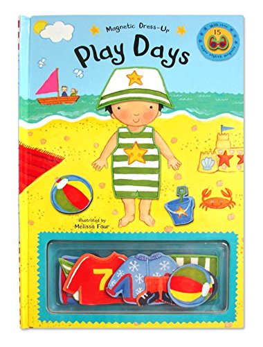 Magnetic Dressing-Up Play By Illustrated by Melissa Four