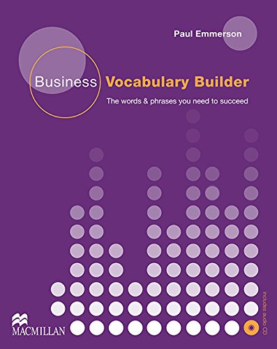 Business Vocabulary: Student Book + Audio CD Pack By Paul Emmerson