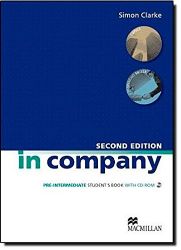 In Company Student s Book CD-ROM Pack Pre-intermediate Level By Mark Powell