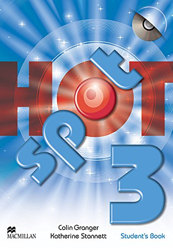 Hot Spot 3 Student's Book & CD-ROM Pack By Colin Granger
