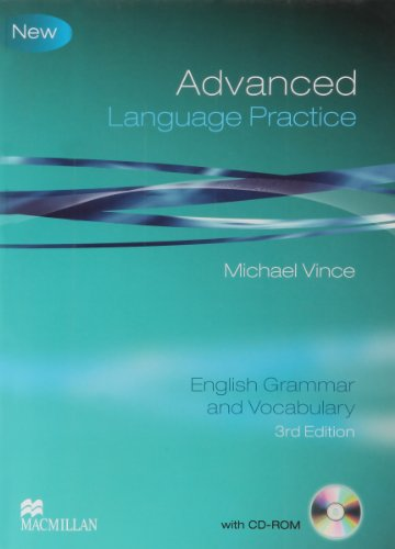 Language Practice Advance Student's Book without Key Pack 3rd Edition By Vince Michael