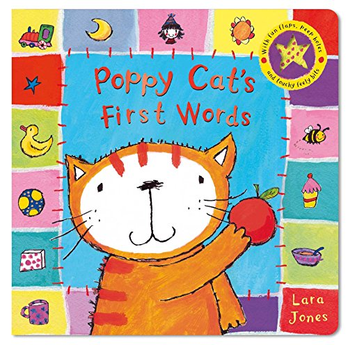 Poppy Cat's First Words By Illustrated by Lara Jones